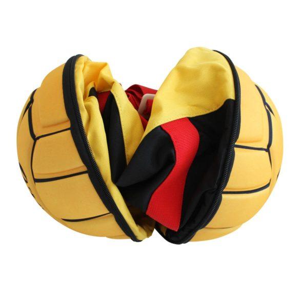 Összecsukható Vízilabdás Táska-fekete/piros/sárga