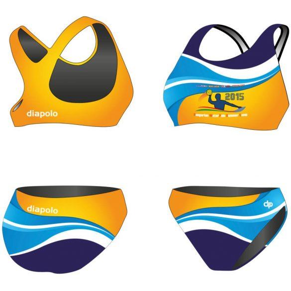 HWPSC3-vastag pántos bikini