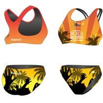 HWPSC-Női vastag pántos bikini-Malaga HandsUp