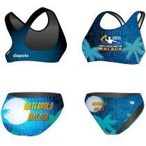 HWPSC-Női vastag pántos bikini-Malaga Night