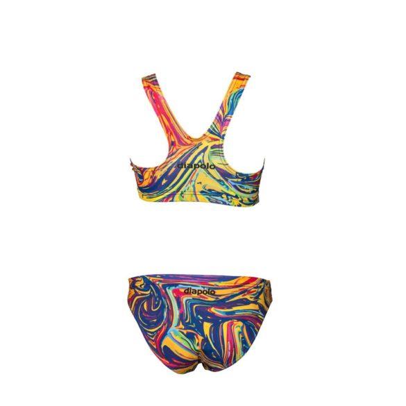 Vastag pántos bikini-Colorful-1