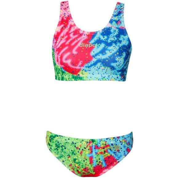 Vastag pántos bikini-Colorful-2