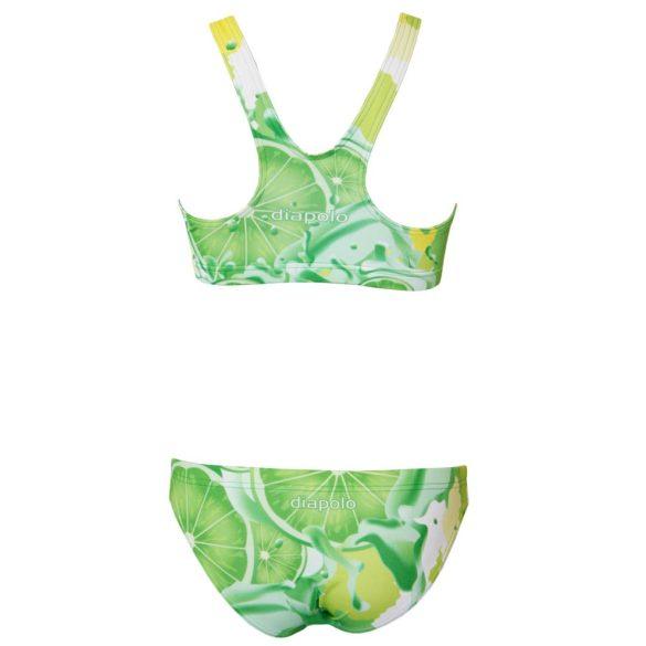 Vastag pántos bikini-Lemon lime fruit