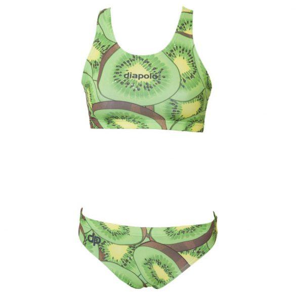 Vastag pántos bikini-Kiwi fruit