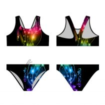Vastag pántos bikini felső - Lightcolor