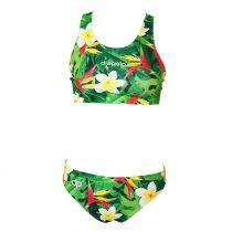 Vastag pántos bikini felső - Tropical - 1