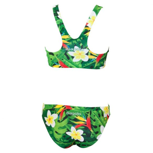 Vastag pántos bikini-Tropical-1