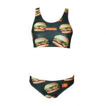 Vastag pántos bikini felső - Burger