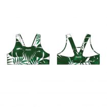 Vastag pántos bikini felső-Leaf