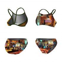 Vékony pántos bikini-Las Vegas