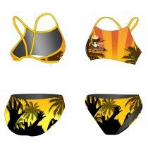HWPSC-Női vékony pántos bikini-Malaga Hands Up