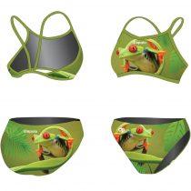 Vékony pántos bikini - Frog - 1