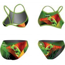 Vékony pántos bikini - Frog - 2