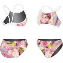 Vékony pántos bikini - Wild Cherry