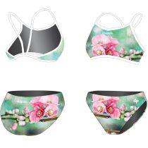 Vékony pántos bikini - Spring Cherry