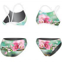 Vékony pántos bikini-Spring Cherry