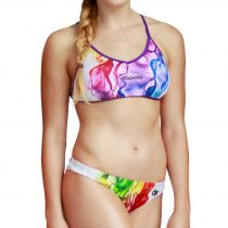 Vékony pántos bikini-Rainbow Sinus