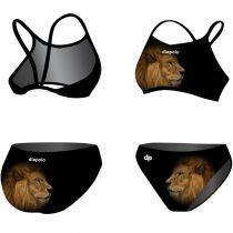 Vékony pántos bikini - Golden Lion - 2