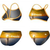 Vékony pántos bikini-Balaton Summer