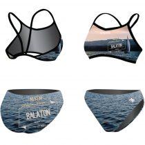 Vékony pántos bikini-Balaton Riviera