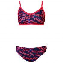 Női vékony pántos bikini-Diapolo Design-2
