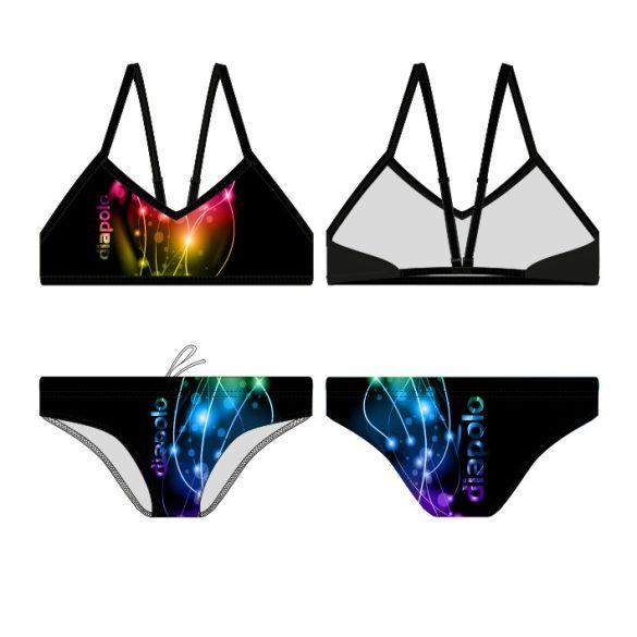 Női vékony pántos bikini-Lightcolor