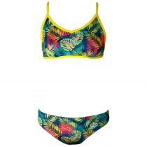 Női vékony pántos bikini - Tropical - 2