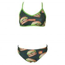 Női vékony pántos bikini - Burger