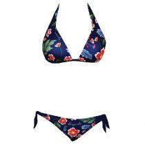 Női bikini-Colorful Flowers