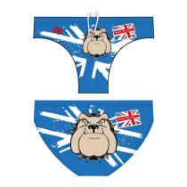 Fiú vízilabda úszó - Bulldog - 1 - kék