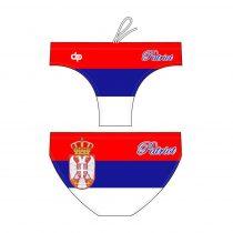 Fiú vízilabda úszó - Serbia patriot - 1
