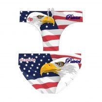 Fiú vízilabda úszó - USA Patriot - 1