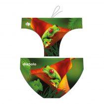 Fiú vízilabda úszó-Frog on the Leaf