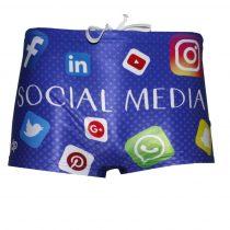 Fiú boxer-Social Media