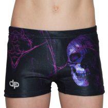 Fiú rövid boxer-Purple Skull