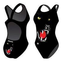 Lányka vastag pántos úszódressz-Panther