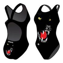 Lányka vastag pántos úszódressz - Panther