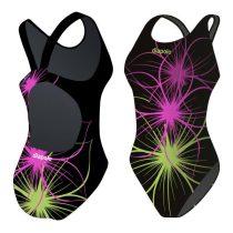 Lányka vastag pántos úszódressz - Neonflower - 9