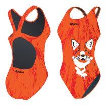 Lányka vastag pántos úszódressz - Fox