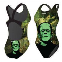Női Vastag Pántos Úszódressz-Frankenstein