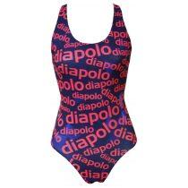 Lányka vastag pántos úszódressz - Diapolo design - 2