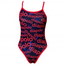 Lányka vékony pántos úszódressz - Diapolo Design - 2