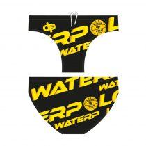 Férfi vízilabdás úszó - WaterPolo - fekete