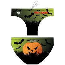 Férfi vízilabdás úszó-Halloween pumpkin