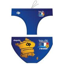 Férfi vízilabdás úszó-France map