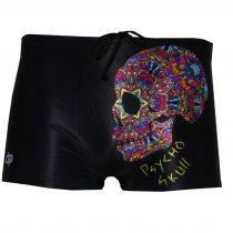 Férfi boxer-Psyho Skull