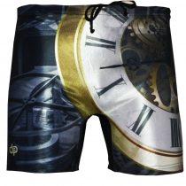 Férfi közép hosszú boxer-Clock