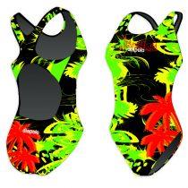 Női vastag pántos úszódressz-Jamaica