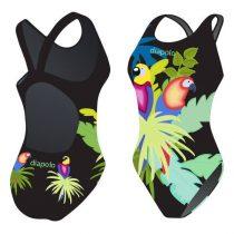 Női vastag pántos úszódressz - Parrot