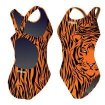 Női vastag pántos úszódressz - Tiger